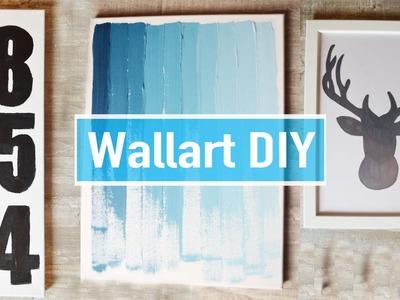 4 Pinterest Inspirierte Wanddeko | Wallart DIY´S