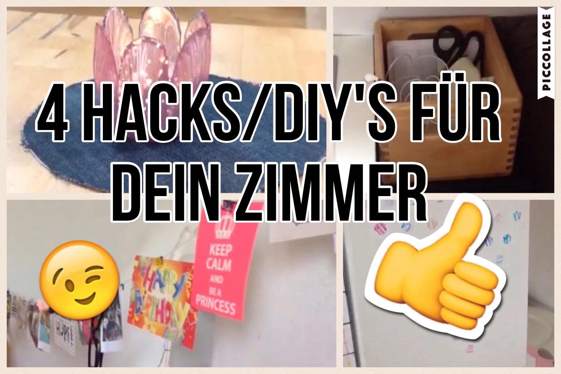 4 coole hacks diys f r dein zimmer. Black Bedroom Furniture Sets. Home Design Ideas