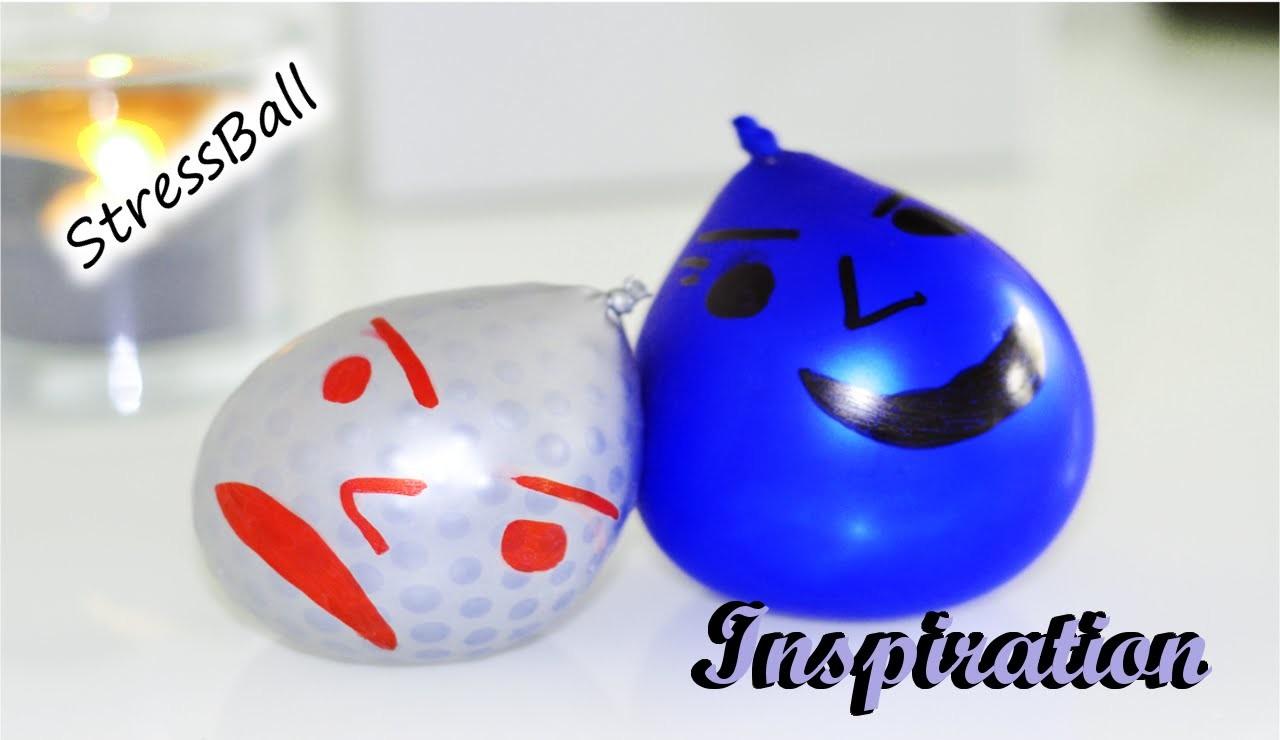 Anti Stress Ball. selber machen. 2 verschiedene Varianten. DIY