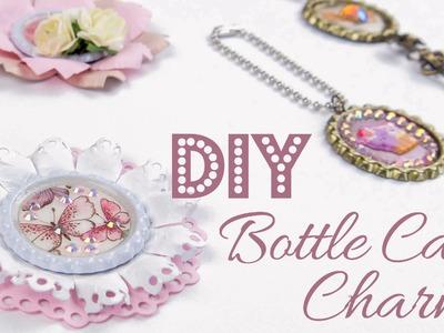 [DIY] Kronkorken Charms | Bottle Cap Embellishments | DEUTSCH