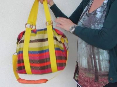 Jamie Bag Sporttasche XS - XL 4 Größen nähen Dufflebag, gefüttert! DIY Nähanleitung für Anfänger!