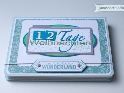 12 Tage Weihnachten 2014 - Minialbum Winter Wunderland