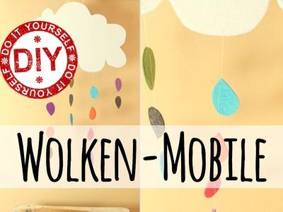 How To I Filz-Wolkenmobile fürs Kinderzimmer ★ Deko Inspirationen Selbstgemacht
