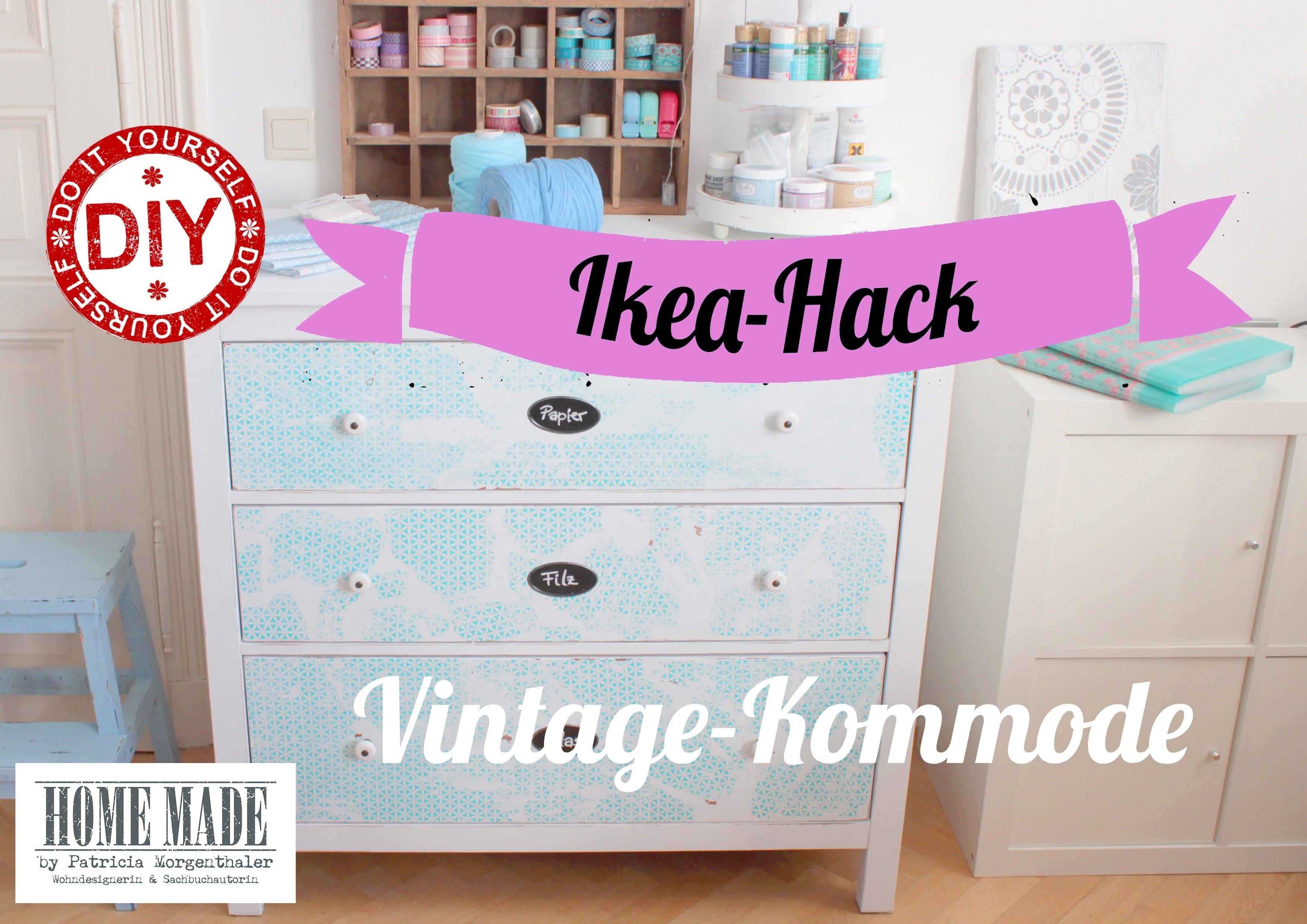 How To I IKEA-Kommode im Shabby Stil I Deko Inspirationen Selbstgemacht