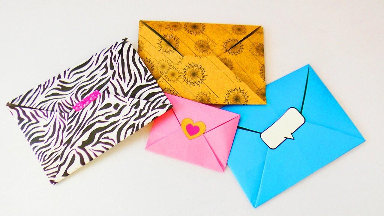 Top Süßen Origami Umschlag falten, Super einfach & schnell XP36