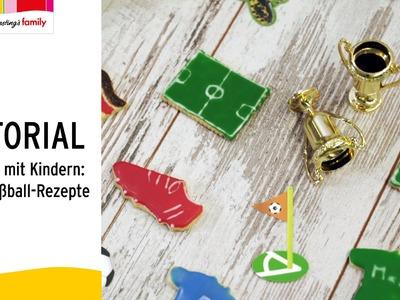 Backen mit Kindern: Süße Fußball-Rezepte | Ernsting's family | TUTORIAL