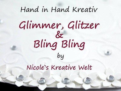 [Tutorial #8.Hand in Hand Kreativ] Hochzeitskarte (Wedding Card) |HD|