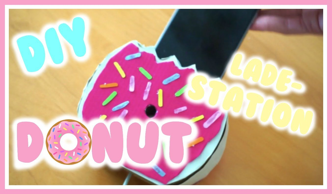 DIY Donut Ladestation für's Handy ⎮weeklyMel