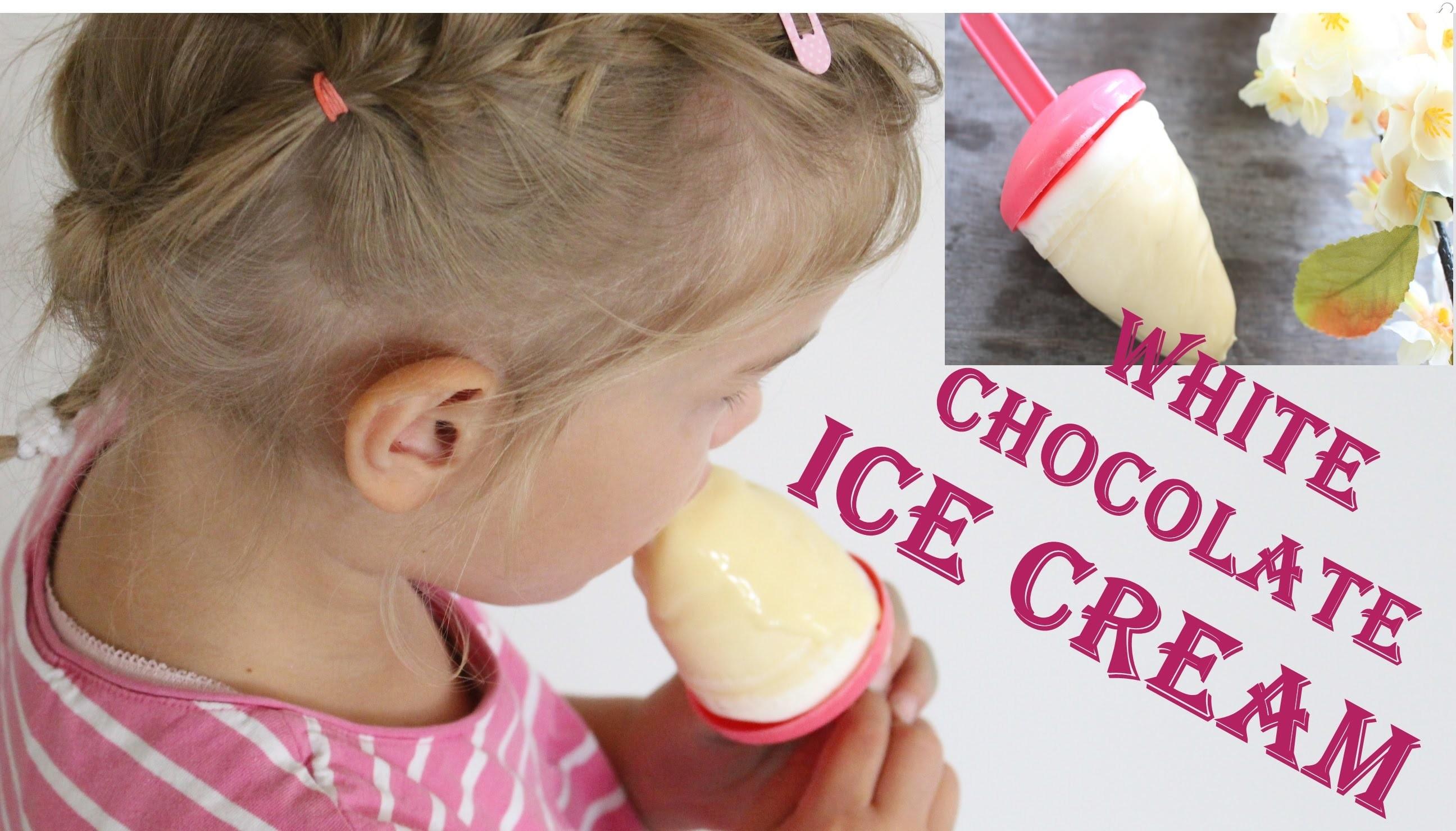 DIY | White Chocolate Ice Cream | Weißes Schokoladen Sahne Eis - schnell & einfach  Back Lounge 2016