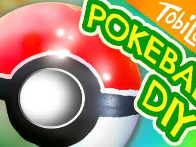 Pokeball selber machen | Pokeball DIY | Pokemon Go DIY | Kinderkanal-  Tobilotta 55