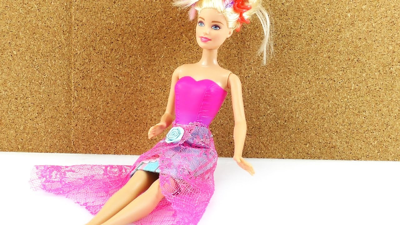 Rock Für Barbie Selber Machen Diy Kleidung Klamotten Für Puppen