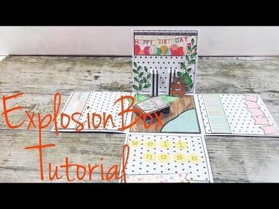 DIY ExplosionBox *Wellness* [tutorial |deutsch]