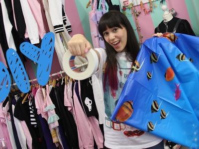 DIY I Kleid aus Duschvorhang? 10 Cloverfield Lane inspiriert