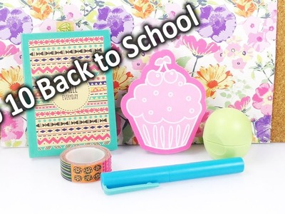 Unsere 10 Back to School MUST-HAVES | Coole Ideen, DIY & Deko | selber machen, Haul & Hacks