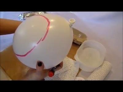 DIY:keka SO bastelt,arbeitet man mit Gipsbinden DEKO Sachen, genaue ANLEITUNG