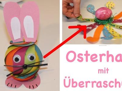 DIY Osterhase mit Überraschung basteln. Osterdeko.easter dekoration. bunny. TäglichMama