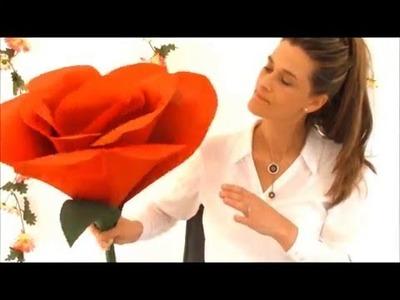 NOCH kreativ | DIY-Deko Riesen-Rose basteln