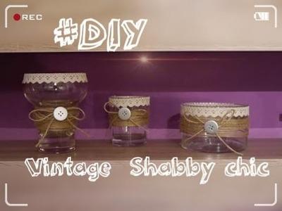 #DIY - Deko Ideen. Vintage. Shabby chic