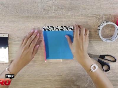 LIBRO Tipp: Handytasche aus Ducktape selber basteln - DIY Anleitung.Tutorial