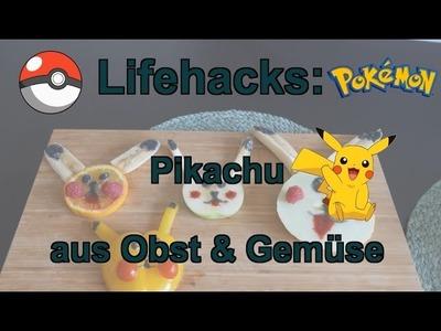 Lifehacks: Pokemon Pikachu aus Obst & Gemüse zum Selbermachen für Kids DIY