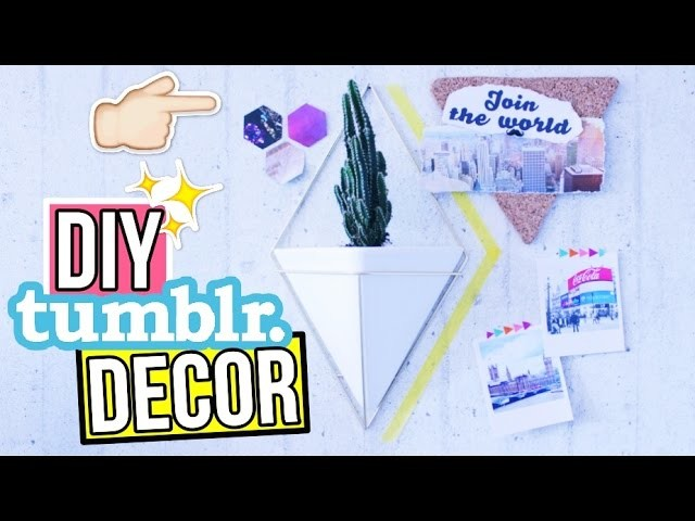 Tumblr Deko Ideen F R Dein Zimmer Diy Tumblr Room Decor