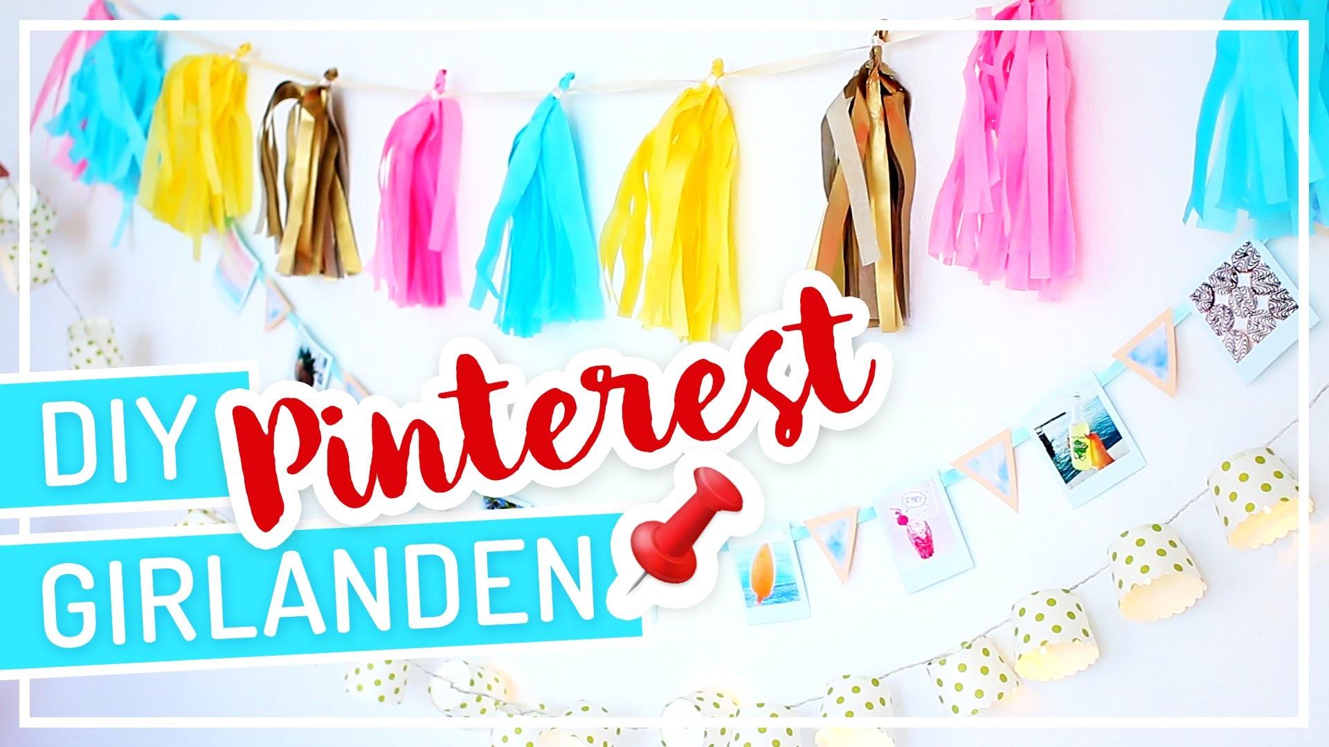 3 DIY Pinterest inspirierte Girlanden #TypischSissi