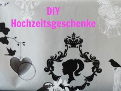 DIY Hochzeitsgeschenke | Geldgeschenk | Frau Farbenfroh