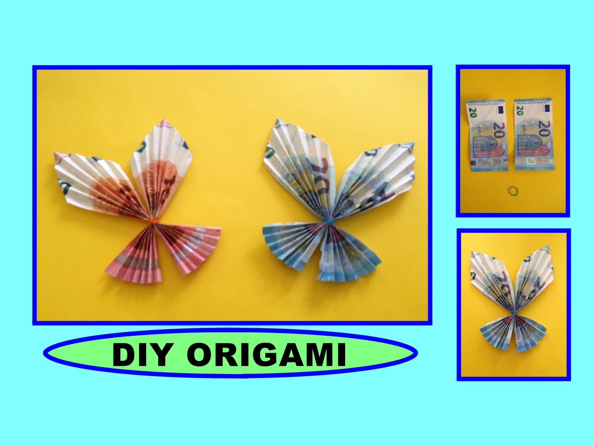 Origami, Faltanleitung Einfacher Origami Kranich