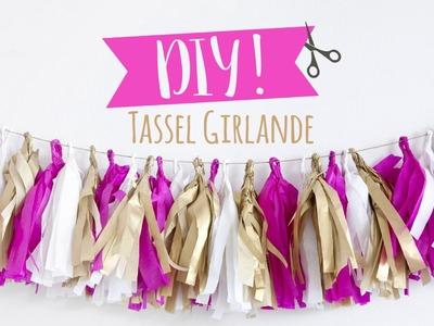Tassel Girlande | WESTWING DIY-Tipps