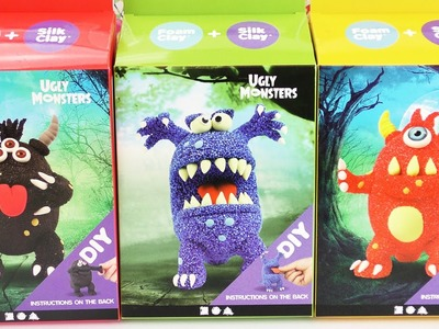 "Monster HAUL | Drei ""Ugly Monsters"" aus Wolkenschleim 