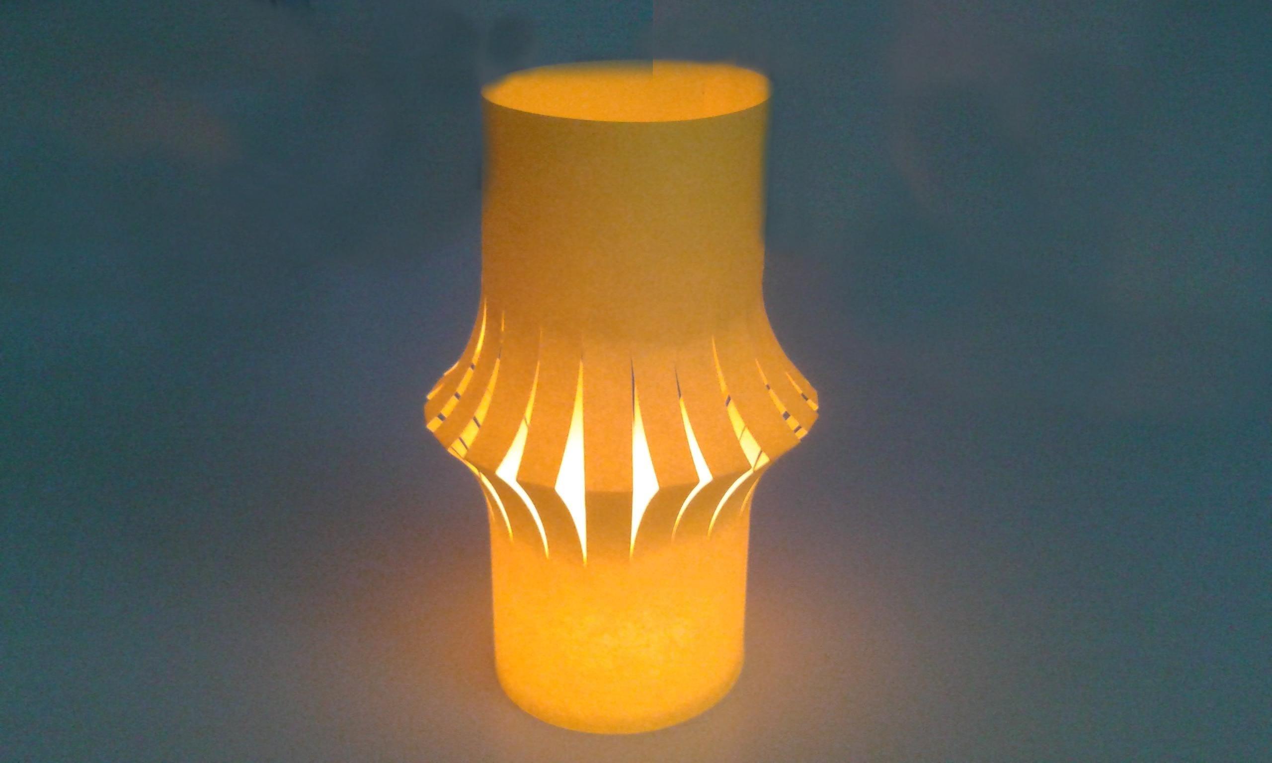 windlichter als schöne tischdeko selber basteln – diy lampion selbst