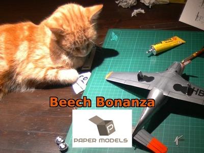 Geli Modell Beech Bonanza Paper Model