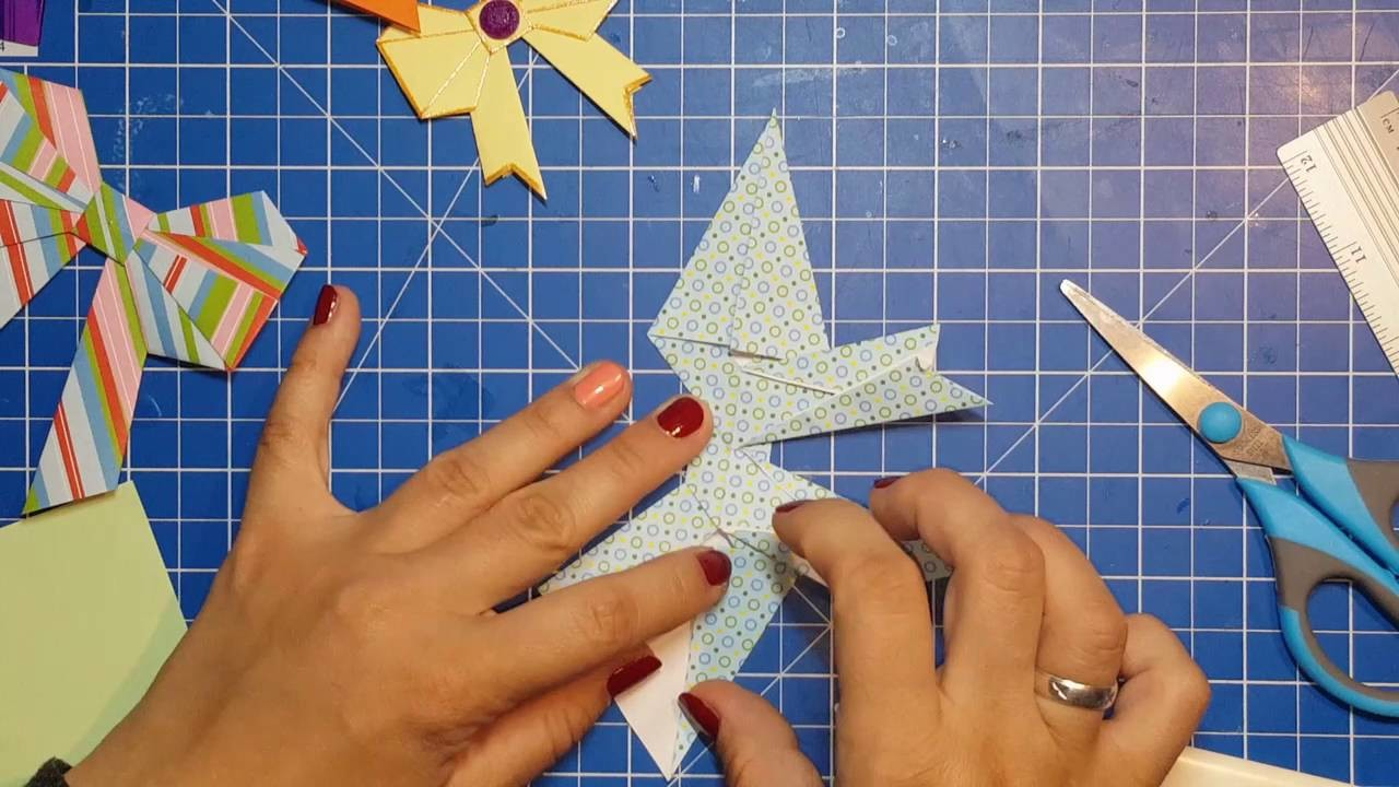 origami faltanleitung einfacher origami kranich. Black Bedroom Furniture Sets. Home Design Ideas