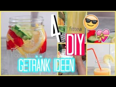 DIY • LIEBLINGS GETRÄNKE !! | Thatsiri