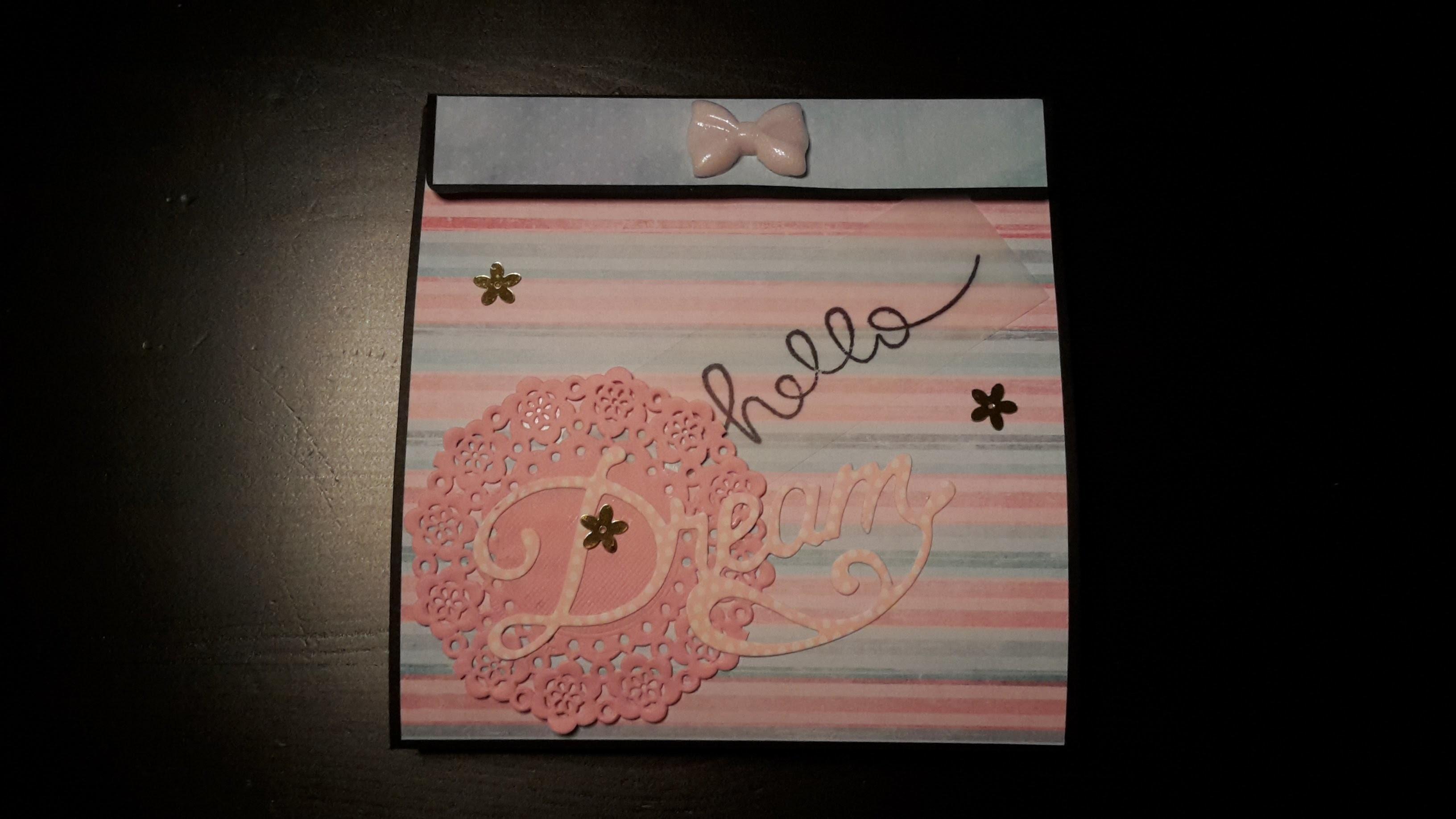 Watch me craft #1 - Flipbook aus Briefumschlägen :)
