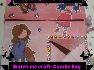 Watch me Craft Gorjuss  Goddie-Bag DIY Geschenkverpackung