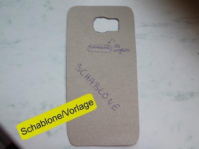 Basic: Schablone.Vorlage für DIY-Handyhüllen