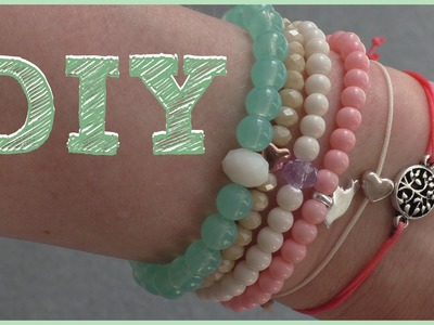 DIY | 3 Varianten SOMMERARMBÄNDER | how to | TUTORIAL