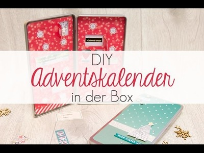 DIY Adventskalender in der Box