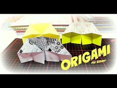 Origami Basteln für Kinder | Tutorial DIY Video deutsch 9999 Dinge - DIY, Basteln & Trends