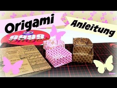 Origami Video deutsch | Geschenkbox falten | Basteln mit Papier | 9999 Dinge - DIY, Basteln & Trends