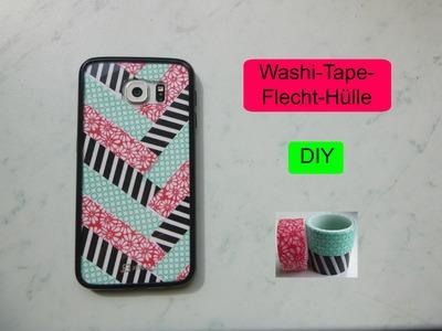 Washi-Tape-(Flecht-)Hülle - DIY