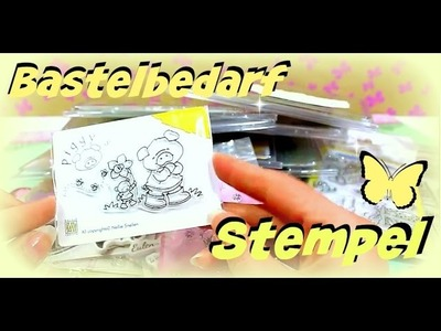 DIY Basteln | Bastelbedarf Video | Weitere Clear Stamps | 9999 Dinge - DIY, Basteln & Trends