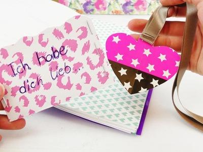 DIY Geschenkideen für die Beste Freundin | Lesezeichen, Geschenkkarte & Filofax Aufbewahrung
