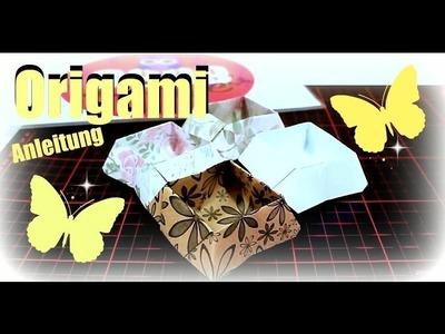 Origami für Anfänger | schräge Faltschachtel Tutorial deutsch | 9999 Dinge - DIY, Basteln & Trends