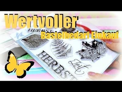Wertvoller Bastelbedarf Haul | DIY Basteln Inspiration | 9999 Dinge - DIY, Basteln & Trends