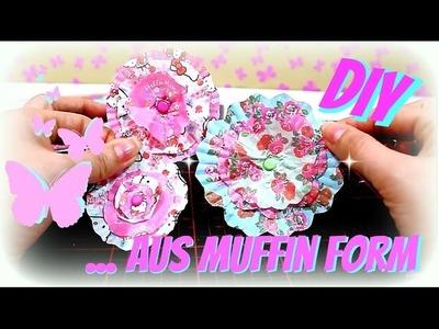 Basteln: Papierblumen selber machen   DIY deutsch    9999 Dinge - DIY, Basteln & Trends