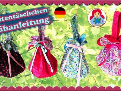 DIY | Blütentäschchen Nähanleitung • Sami Doll Tutorials