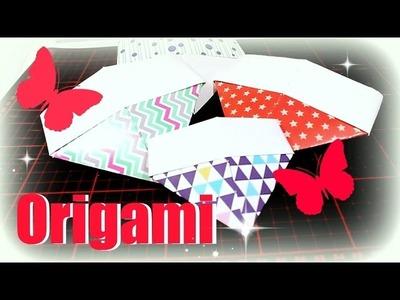 Origami deutsch | Basteln mit Papier Tutorial | 9999 Dinge - DIY, Basteln & Trends