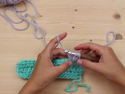 Crochet Along 2016 -Schritt 2 kleines Quadrat